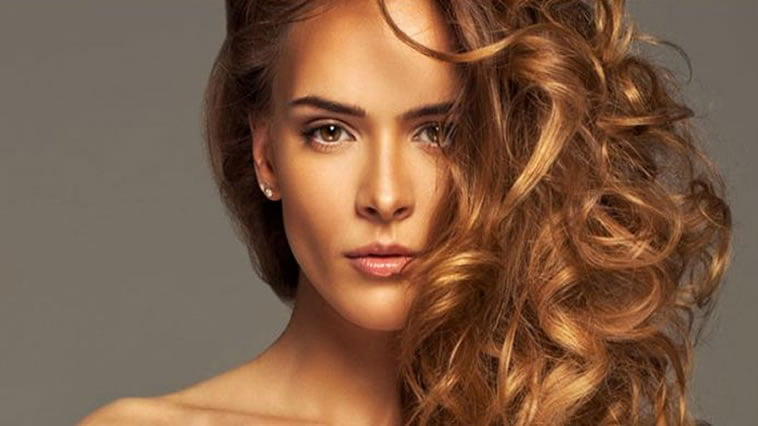 Cool Chocolate Hair Color for Curly Long hair 2017