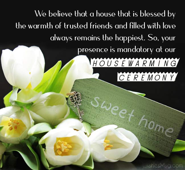 Housewarming Invitations Wording Ideas